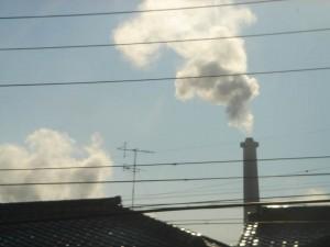 この煙は粒子で表現するべきかー