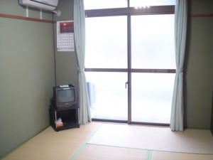 面会人宿泊所の部屋