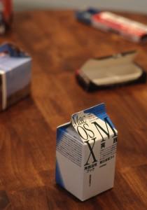 飲んでみたい!Mac OS牛乳