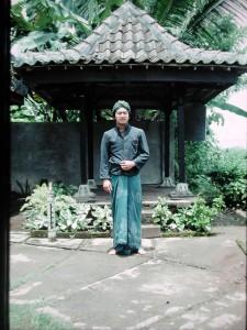 20年前の私。インドネシアにて