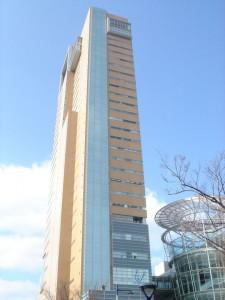 シンポジウム会場の高松シンボルタワー
