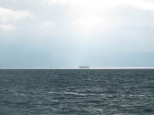 高松までの船にて(撮影:泉)