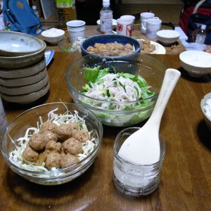 井口厨房長作 肉団子。