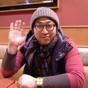 日本に着いたわが弟キラ氏