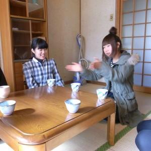 旧野村邸にてコーヒーを飲む